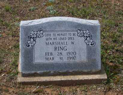RING, MARSHALL WARREN - Lawrence County, Arkansas | MARSHALL WARREN RING - Arkansas Gravestone Photos