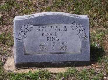 RING, RENARD LEE - Lawrence County, Arkansas | RENARD LEE RING - Arkansas Gravestone Photos
