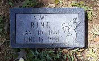 "RING, THOMAS NEWTON ""NEWT"" - Lawrence County, Arkansas 