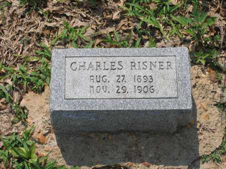 RISNER, CHARLES - Lawrence County, Arkansas | CHARLES RISNER - Arkansas Gravestone Photos