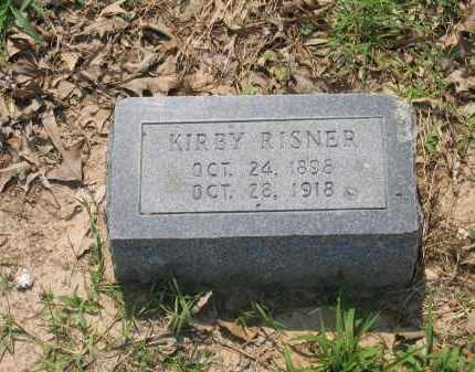 RISNER, KIRBY - Lawrence County, Arkansas | KIRBY RISNER - Arkansas Gravestone Photos