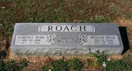 ROACH, WILLIAM DAVID - Lawrence County, Arkansas | WILLIAM DAVID ROACH - Arkansas Gravestone Photos