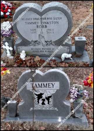 PINKSTON ROBB, TAMMEY JO - Lawrence County, Arkansas | TAMMEY JO PINKSTON ROBB - Arkansas Gravestone Photos