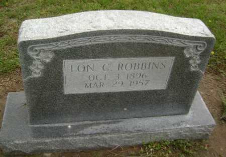 ROBBINS, LON C. - Lawrence County, Arkansas | LON C. ROBBINS - Arkansas Gravestone Photos