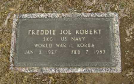 ROBERT  (VETERAN 2 WARS), FREDDIE JOE - Lawrence County, Arkansas | FREDDIE JOE ROBERT  (VETERAN 2 WARS) - Arkansas Gravestone Photos