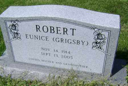 GRIGSBY ROBERT, EUNICE - Lawrence County, Arkansas | EUNICE GRIGSBY ROBERT - Arkansas Gravestone Photos
