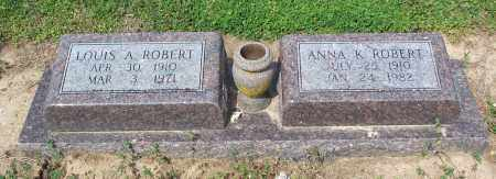 ROBERTSON ROBERT, ANNA K - Lawrence County, Arkansas | ANNA K ROBERTSON ROBERT - Arkansas Gravestone Photos