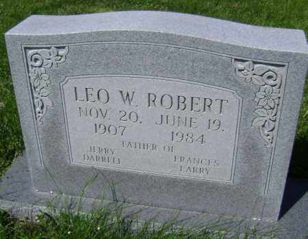 ROBERT, LEO WASHINGTON - Lawrence County, Arkansas | LEO WASHINGTON ROBERT - Arkansas Gravestone Photos