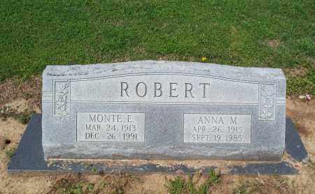 ROBERT, MONTE E. - Lawrence County, Arkansas | MONTE E. ROBERT - Arkansas Gravestone Photos