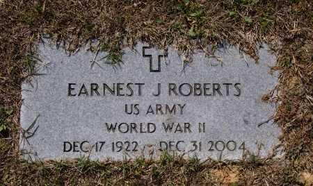 ROBERTS (VETERAN WWII), ERNEST JOSEPH - Lawrence County, Arkansas | ERNEST JOSEPH ROBERTS (VETERAN WWII) - Arkansas Gravestone Photos