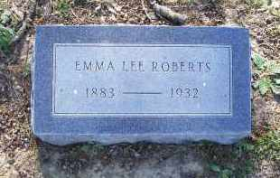"PHELPS ROBERTS, EMMA LEE ""SIS"" - Lawrence County, Arkansas 