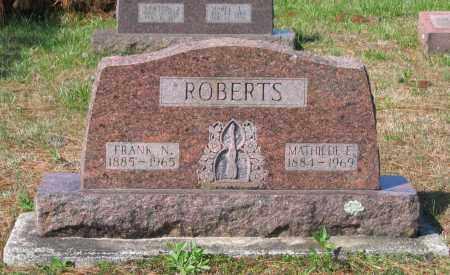 ROBERTS, FRANK N. - Lawrence County, Arkansas | FRANK N. ROBERTS - Arkansas Gravestone Photos