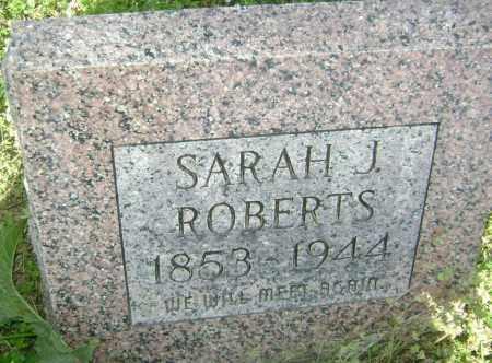 ROBERTS, SARAH J. - Lawrence County, Arkansas | SARAH J. ROBERTS - Arkansas Gravestone Photos