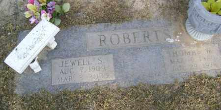 STONE ROBERTS, JEWELL - Lawrence County, Arkansas | JEWELL STONE ROBERTS - Arkansas Gravestone Photos