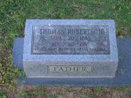 ROBERTSON, THOMAS - Lawrence County, Arkansas | THOMAS ROBERTSON - Arkansas Gravestone Photos