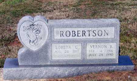 ROBERTSON, VERNON B. - Lawrence County, Arkansas   VERNON B. ROBERTSON - Arkansas Gravestone Photos