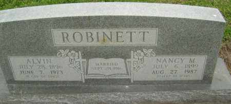 ROBINETT, ALVIN - Lawrence County, Arkansas | ALVIN ROBINETT - Arkansas Gravestone Photos
