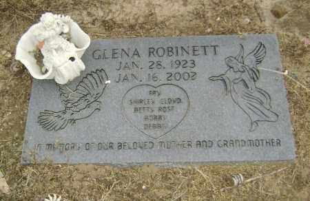 ROBINETT, GLENA - Lawrence County, Arkansas | GLENA ROBINETT - Arkansas Gravestone Photos