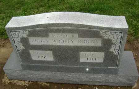 ROBINS, AGNES - Lawrence County, Arkansas | AGNES ROBINS - Arkansas Gravestone Photos