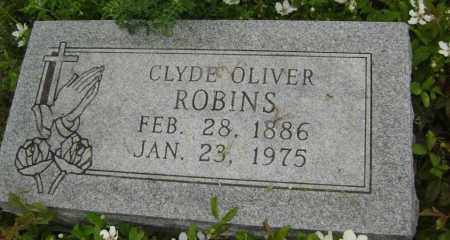ROBINS, CLYDE OLIVER - Lawrence County, Arkansas | CLYDE OLIVER ROBINS - Arkansas Gravestone Photos