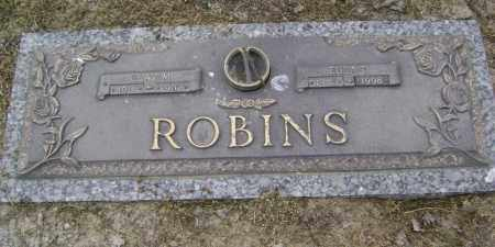 ROBINS, CLAY MELTON - Lawrence County, Arkansas | CLAY MELTON ROBINS - Arkansas Gravestone Photos