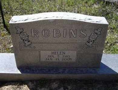 ROBINS, HELEN AVO - Lawrence County, Arkansas | HELEN AVO ROBINS - Arkansas Gravestone Photos