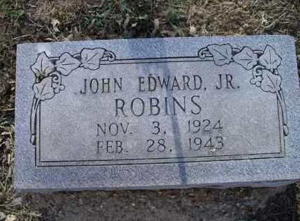 ROBINS, JR., JOHN EDWARD - Lawrence County, Arkansas | JOHN EDWARD ROBINS, JR. - Arkansas Gravestone Photos