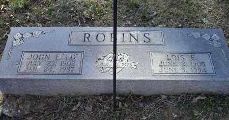 "ROBINS, SR., JOHN EDWARD ""ED"" - Lawrence County, Arkansas 