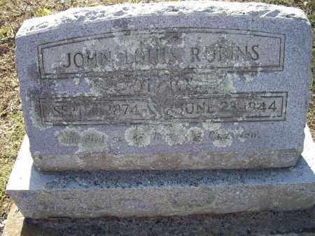 ROBINS, JOHN LOUIS - Lawrence County, Arkansas | JOHN LOUIS ROBINS - Arkansas Gravestone Photos