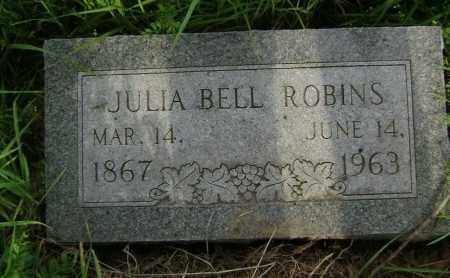 ROBINS, JULIA BELL - Lawrence County, Arkansas | JULIA BELL ROBINS - Arkansas Gravestone Photos