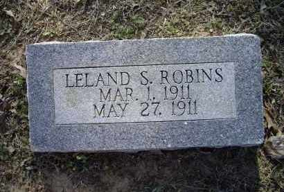 ROBINS, LELAND S. - Lawrence County, Arkansas | LELAND S. ROBINS - Arkansas Gravestone Photos