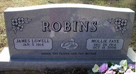 ANDREWS ROBINS, MOLLIE FAYE - Lawrence County, Arkansas | MOLLIE FAYE ANDREWS ROBINS - Arkansas Gravestone Photos