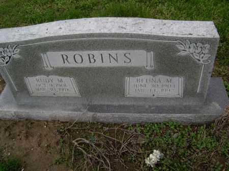 ROBINS, BEUNA M. - Lawrence County, Arkansas | BEUNA M. ROBINS - Arkansas Gravestone Photos