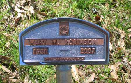 ALEXANDER ROBINSON, MARY MELBAREEN - Lawrence County, Arkansas | MARY MELBAREEN ALEXANDER ROBINSON - Arkansas Gravestone Photos