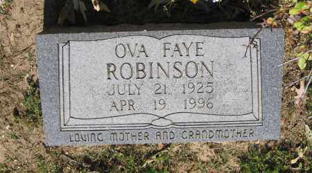 ROBINSON, OVA FAYE - Lawrence County, Arkansas | OVA FAYE ROBINSON - Arkansas Gravestone Photos