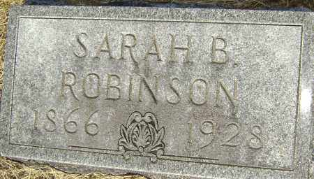 ROBINSON, SARAH B. - Lawrence County, Arkansas | SARAH B. ROBINSON - Arkansas Gravestone Photos