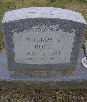 ROCK, WILLIAM T. - Lawrence County, Arkansas | WILLIAM T. ROCK - Arkansas Gravestone Photos