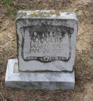 RODGERS, LOWELL T. - Lawrence County, Arkansas | LOWELL T. RODGERS - Arkansas Gravestone Photos