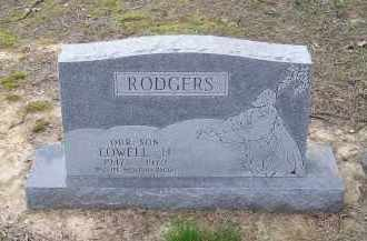 RODGERS, LOWELL H. - Lawrence County, Arkansas | LOWELL H. RODGERS - Arkansas Gravestone Photos