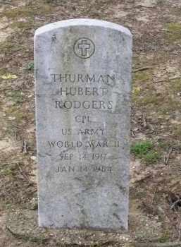 RODGERS (VETERAN WWII), THURMAN HUBERT - Lawrence County, Arkansas   THURMAN HUBERT RODGERS (VETERAN WWII) - Arkansas Gravestone Photos