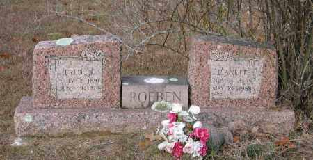 ROEBEN, FRED J. - Lawrence County, Arkansas | FRED J. ROEBEN - Arkansas Gravestone Photos