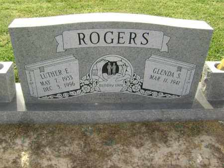 ROGERS, LUTHER E. - Lawrence County, Arkansas | LUTHER E. ROGERS - Arkansas Gravestone Photos