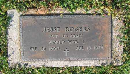 ROGERS (VETERAN WWI), JESSE - Lawrence County, Arkansas | JESSE ROGERS (VETERAN WWI) - Arkansas Gravestone Photos