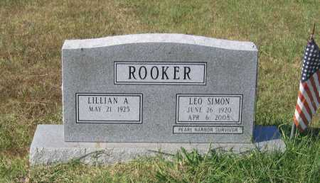 ROOKER (VETERAN WWII), LEO SIMON - Lawrence County, Arkansas | LEO SIMON ROOKER (VETERAN WWII) - Arkansas Gravestone Photos