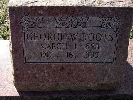ROOTS, GEORGE WILLIAM - Lawrence County, Arkansas | GEORGE WILLIAM ROOTS - Arkansas Gravestone Photos