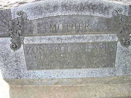 ASHLOCK ROOTS, ZONA MAE - Lawrence County, Arkansas | ZONA MAE ASHLOCK ROOTS - Arkansas Gravestone Photos