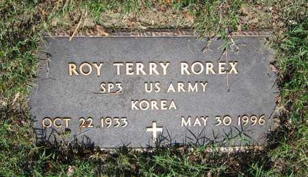 ROREX (VETERAN KOR), ROY TERRY - Lawrence County, Arkansas | ROY TERRY ROREX (VETERAN KOR) - Arkansas Gravestone Photos