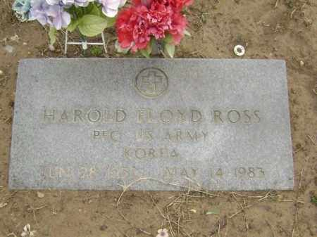 ROSS  (VETERAN KOR), HAROLD FLOYD - Lawrence County, Arkansas | HAROLD FLOYD ROSS  (VETERAN KOR) - Arkansas Gravestone Photos