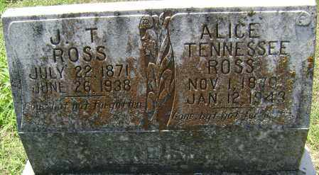 ROSS, JOHN T. - Lawrence County, Arkansas | JOHN T. ROSS - Arkansas Gravestone Photos