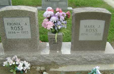 "ROSS, MARCUS J. ""MARK"" - Lawrence County, Arkansas | MARCUS J. ""MARK"" ROSS - Arkansas Gravestone Photos"